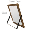 "Rustic Double Sided 11"" x 11"" Whiteboard: Reversible, Dry Erase, Magnetic"