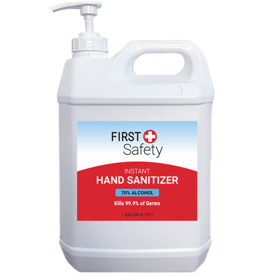 First Safety 1 gallon Hand Sanitizer Gel with Pump (76720-002-05)