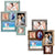 Magnetic Collage Picture Frame Sets:  Includes 2 sets of Magnet Frames