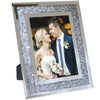 Decorative Picture Frame with Sparkling Crystal Border