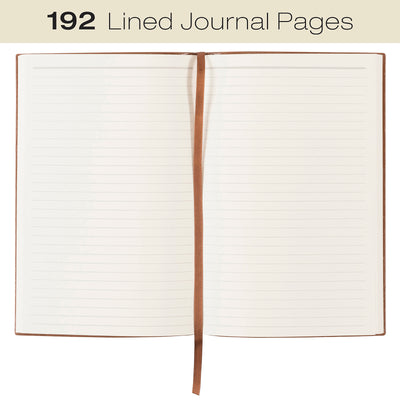 "Textured Notebook: 5""x8"", 192 Pages (96 Sheets), Lined Ruled"