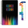 "Middle / High School Planner 2020-2021 (Matrix Style - 5.5""x8.5"" - Color Bars)"