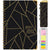 2021-2022 - Hardcover Planner - BLACK GOLD TRIANGLES