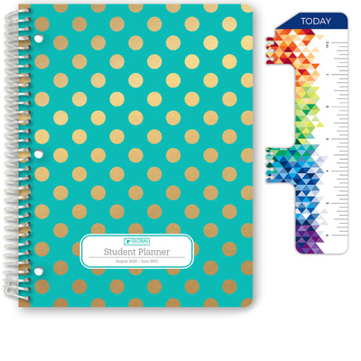 "Middle / High School Planner 2020-2021 (Matrix Style - 8.5""x11"")"