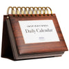 Motivational & Inspirational Perpetual Daily Flip Calendar Self-Standing Easel