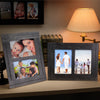 "Rustic Shabby Chic Wooden Picture Frame Holds Two 5""x7"" Photos (Pack of 2)"