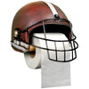Football Helmet Toilet Paper Holder: Rustic Bathroom Dcor