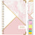HARDCOVER  2021 Planner - PINK MARBLE TRIANGLES (Nov 2020 - Dec 2021)