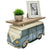 Retro Floating Shelf Rustic Wall Decor Floating (Red Car Front)