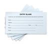 15 Ballot Pads - 100 sheets (Blue)