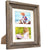 Rustic Barnwood 8x10 Picture Frame Set: 8x10 or 5x7 or 4x6 with included Matte