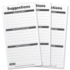 200 Suggestion Cards for Suggestion Box (Pack of 200)