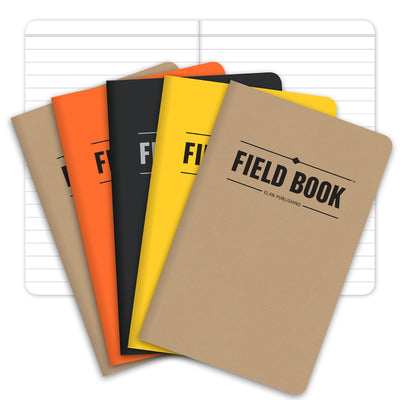 "Field Notebook - 3.5""x5.5"" - Combo - Pack of 5"