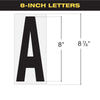 "8"" Marquee Letter Box set"