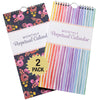Perpetual Calendar: Spiral Organizer for Birthdays & Important Dates (2-Pack)