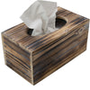 Rustic Barnwood Tissue Box Cover: Tissue Rectangle Box (Pack of 1)