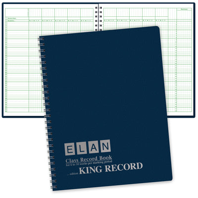 Oversize Record Book for 6-10 Weeks (King Record)