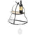 Wall Mounted Wine Glass Holder: Holds 14 Wine Glasses.