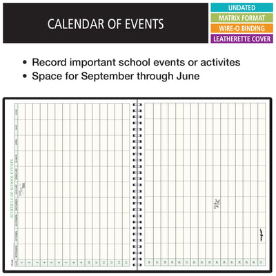 Combination Teacher Lesson Plan and Record Book (PR7-6)