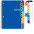 "Middle / High School Planner 2020-2021 (Matrix Style - 7""x9"" - Blue)"