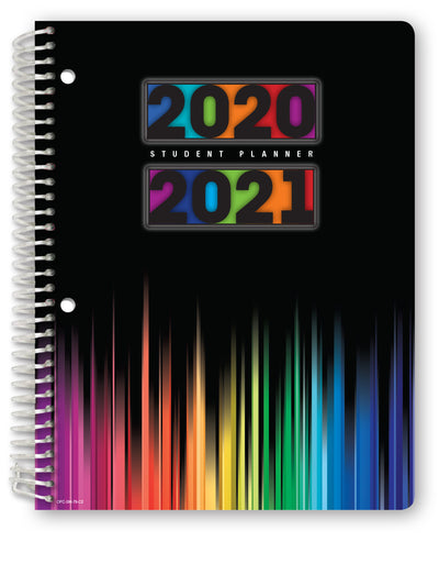 "Middle / High School Planner 2020-2021 (Matrix Style - 7""x9"" - Turquiose)"