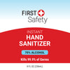 First Safety 8 oz Hand Sanitizer Gel with Pump (76720-002-02)