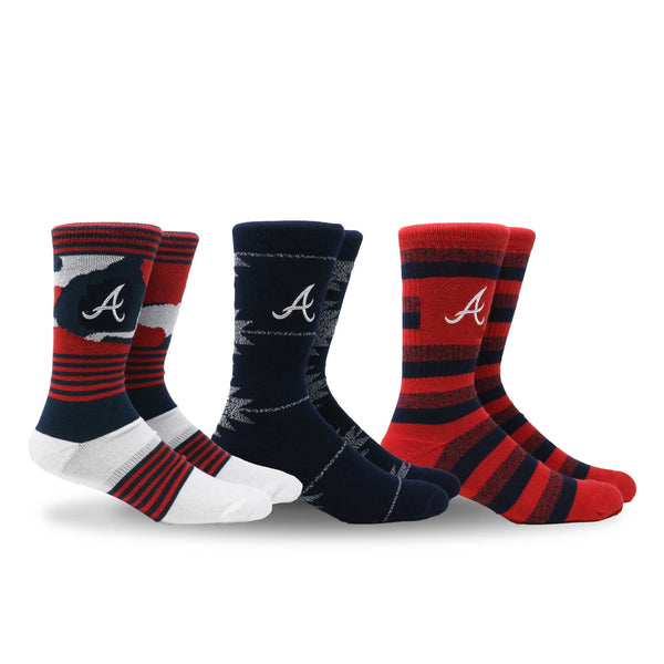 Braves Clubhouse 3 Pack