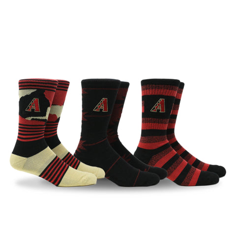 Diamondbacks Clubhouse 3 Pack