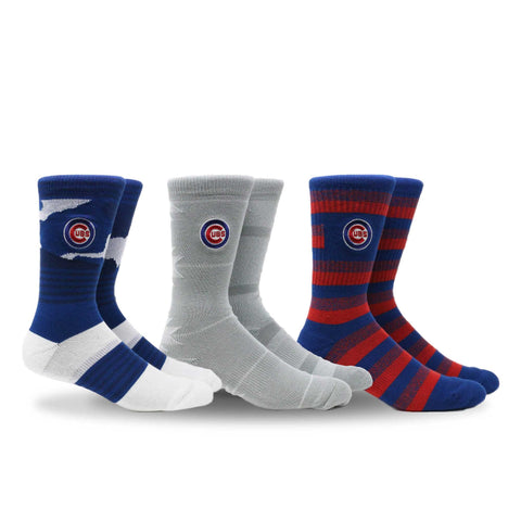 Chicago Cubs Clubhouse 3 Pack
