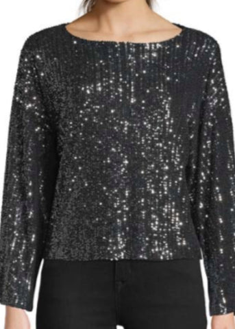 Cora Sequined Top