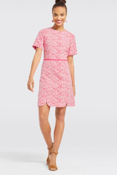 Draper James Jacquard Sheath Dress