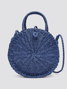Straw Dot Bag