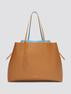 Leather Reversible Tote
