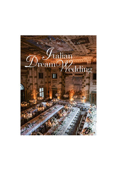 """Italian Dream Wedding"" Coffee Table Book"
