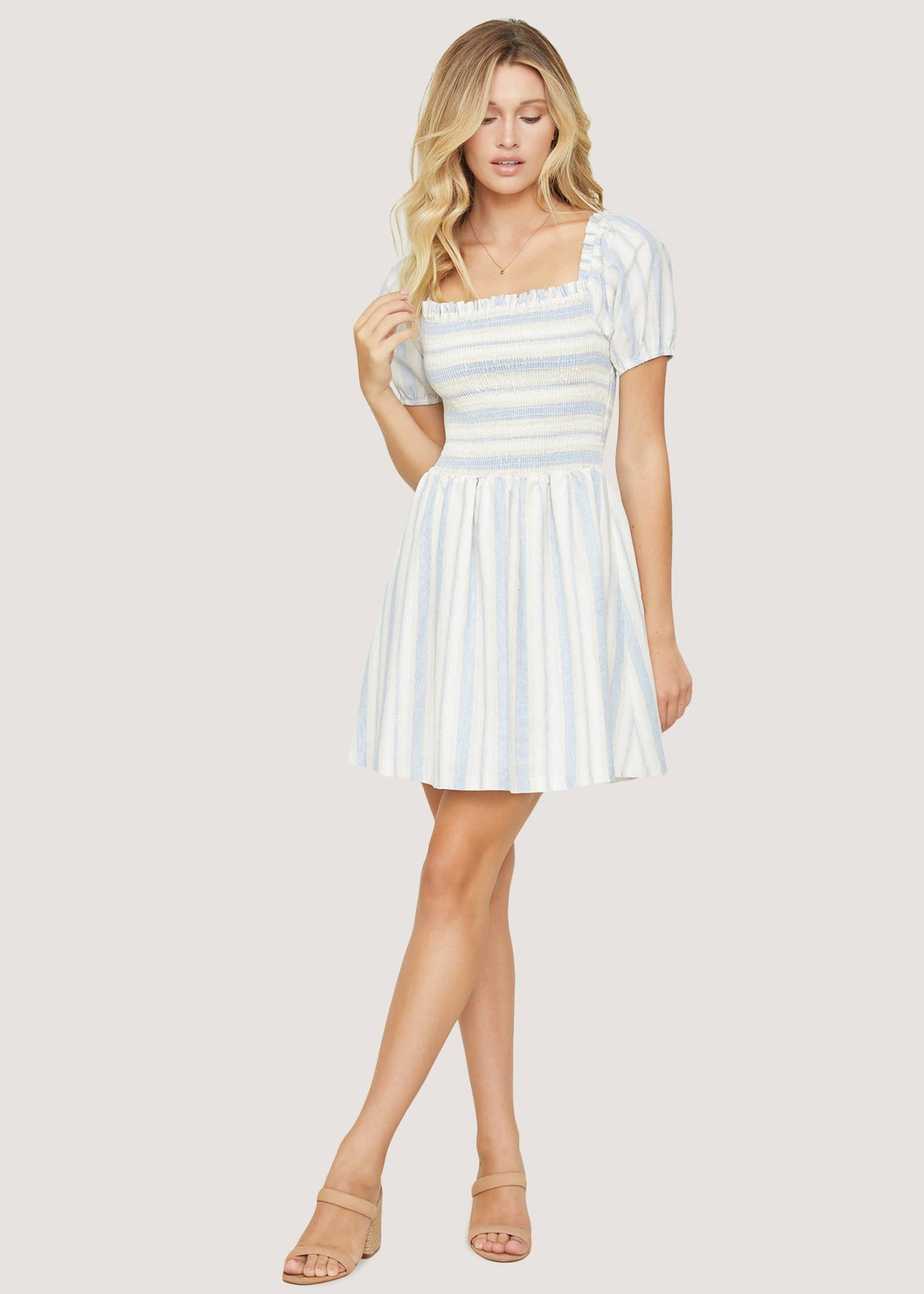 Beachside Pier Mini Dress