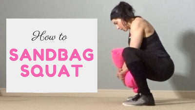 Sandbag Squats with Dr Sara Solomon