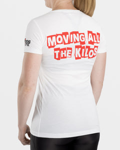 Moving All The Kilos  |  Women's T-Shirt