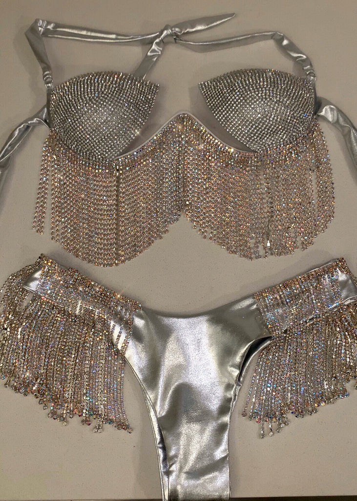 So Icy Girl Bling Top With BLING Bottoms