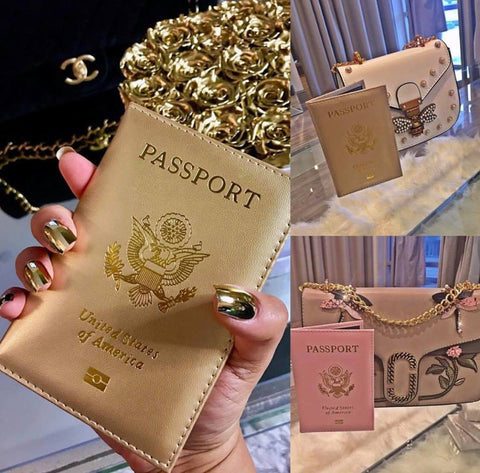 Cute AF Passport Covers