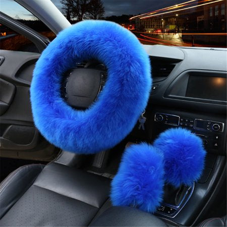 Furry World Wide Beauty Steering Wheel 3pc Set