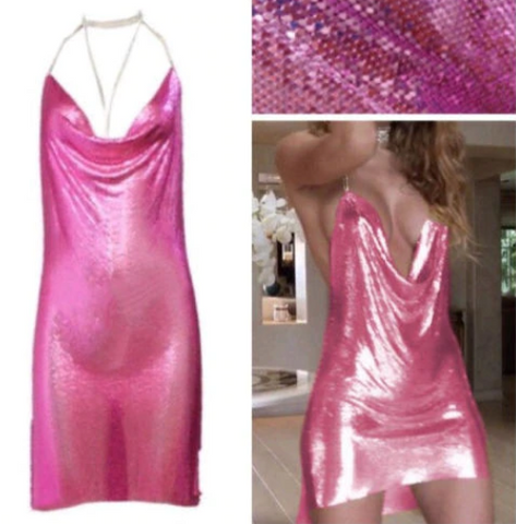 Bling Metallic Dress