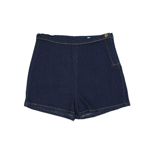 Sandycheeks Denim stretchy shorts