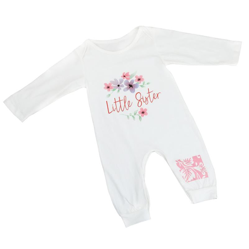 40bb59236f45 Newborn Baby Rompers Clothes Printed ong Sleeve Infant Jumpsuit Toddler  Rompers Outfits Product