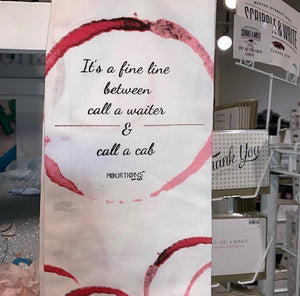 """Call a Cab"" Tea Towel"