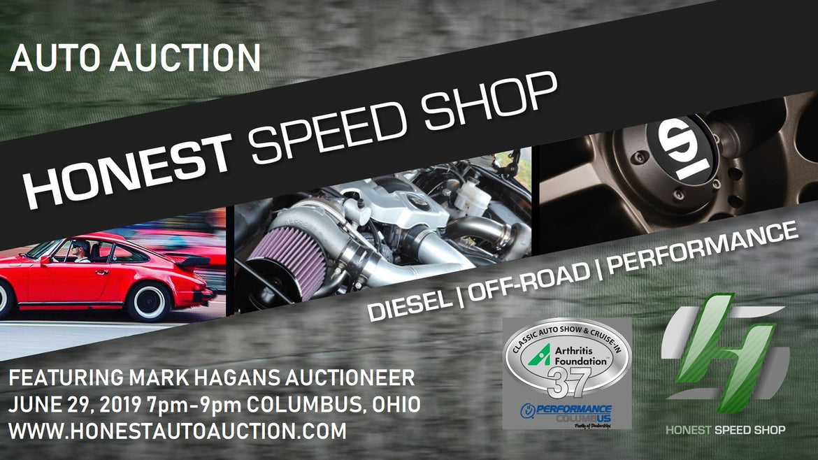 Honest Speed Shop/ Mark Hagans Auto Auction for the Arthritis Auto Show.
