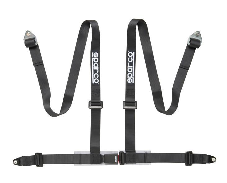 Sparco 2 INCH Wide Belt 4PT BOLT-IN Street Safety Harness