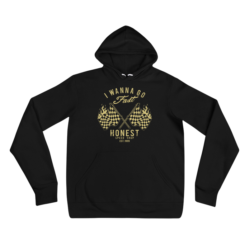 I Wanna Go Fast! - Pullover Hoodie