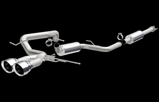 MagnaFlow Ford Focus ST Cat Back Exhaust Dual Center Rear Exit Stainless Steel