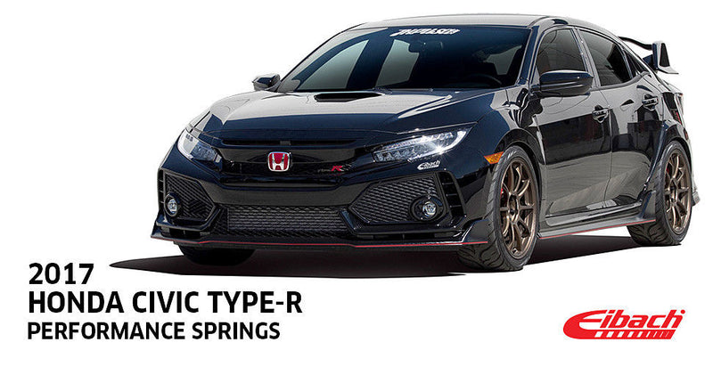 Eibach Pro-Kit for 2017 Honda Civic Type R 1.0in Front 1.0in Rear