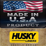 Husky Liner Front & Rear Floor Liners BLACK 12-15 Ford Focus